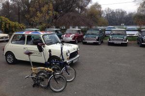 A Brompton Mini Mobil a Mini-találkozón